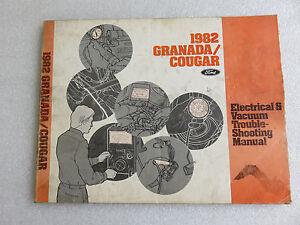 1982 ford granada cougar service manual electrical vacuum wiring  ford granada vacuum diagram #12