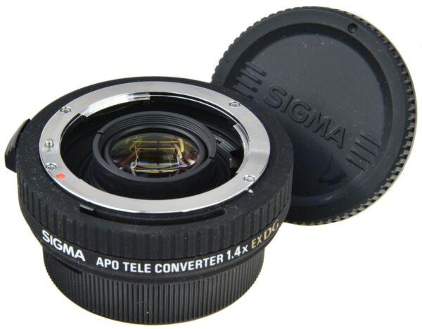 Efficace Nikon Sigma 1.4x Apo Ex Dg Limpide à Vue