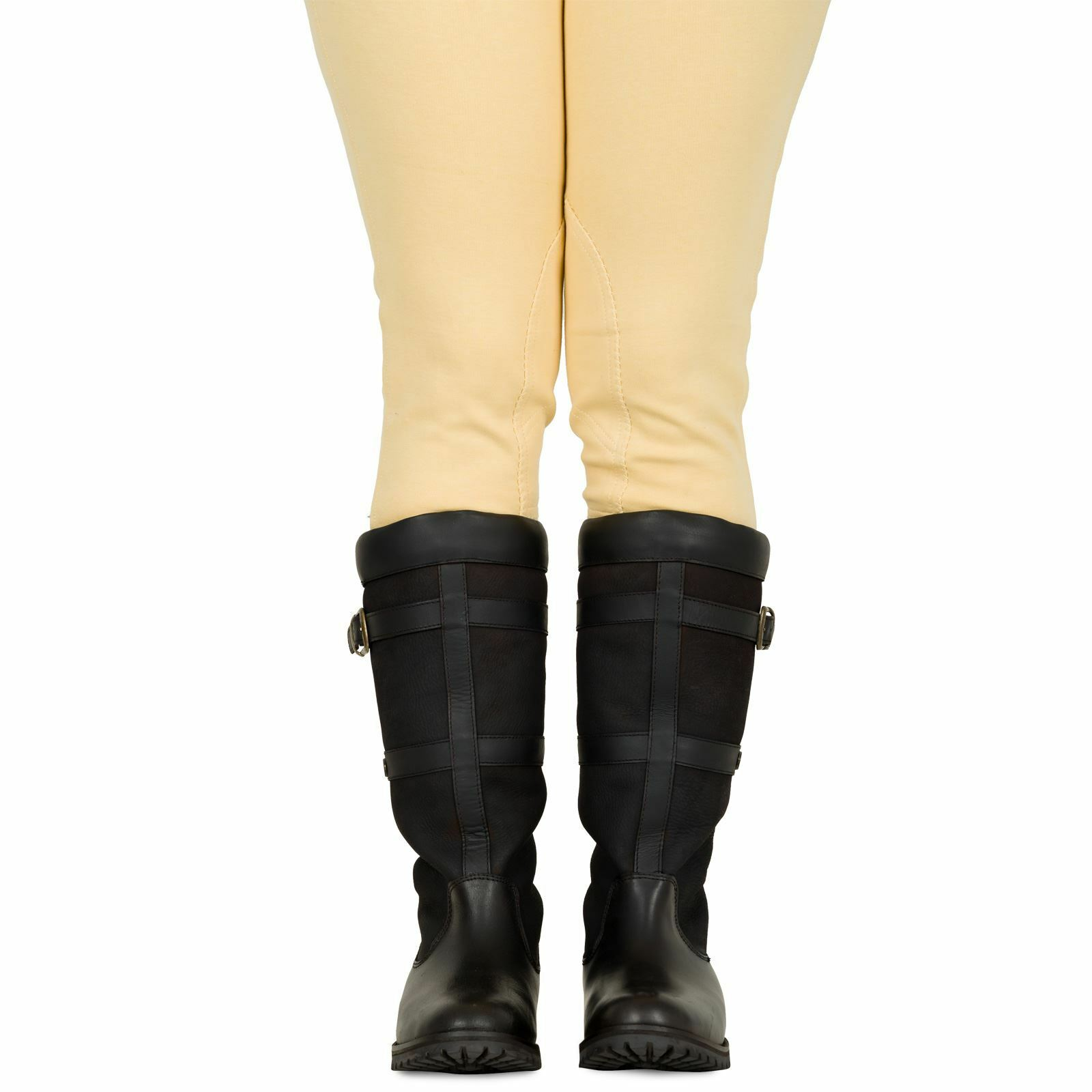 Sherwood Forest Ladies Halton Tall Country Yard Stable Outdoor Pull on Boots