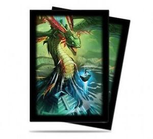 60ct-Quetzalcoatl-Art-Deck-Protector-Sleeves-Yugioh-Size-62-x-89mm-Ultra-Pro