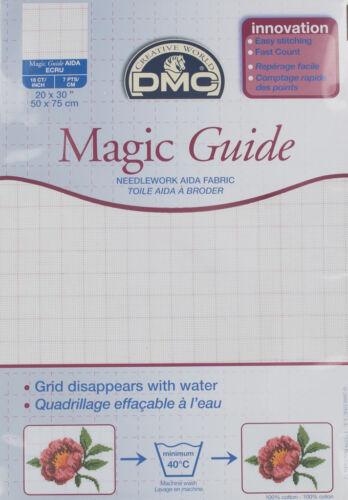 - Ecru 18 Count Magic Guide 20x30 Inches DC38MG 50x75cm