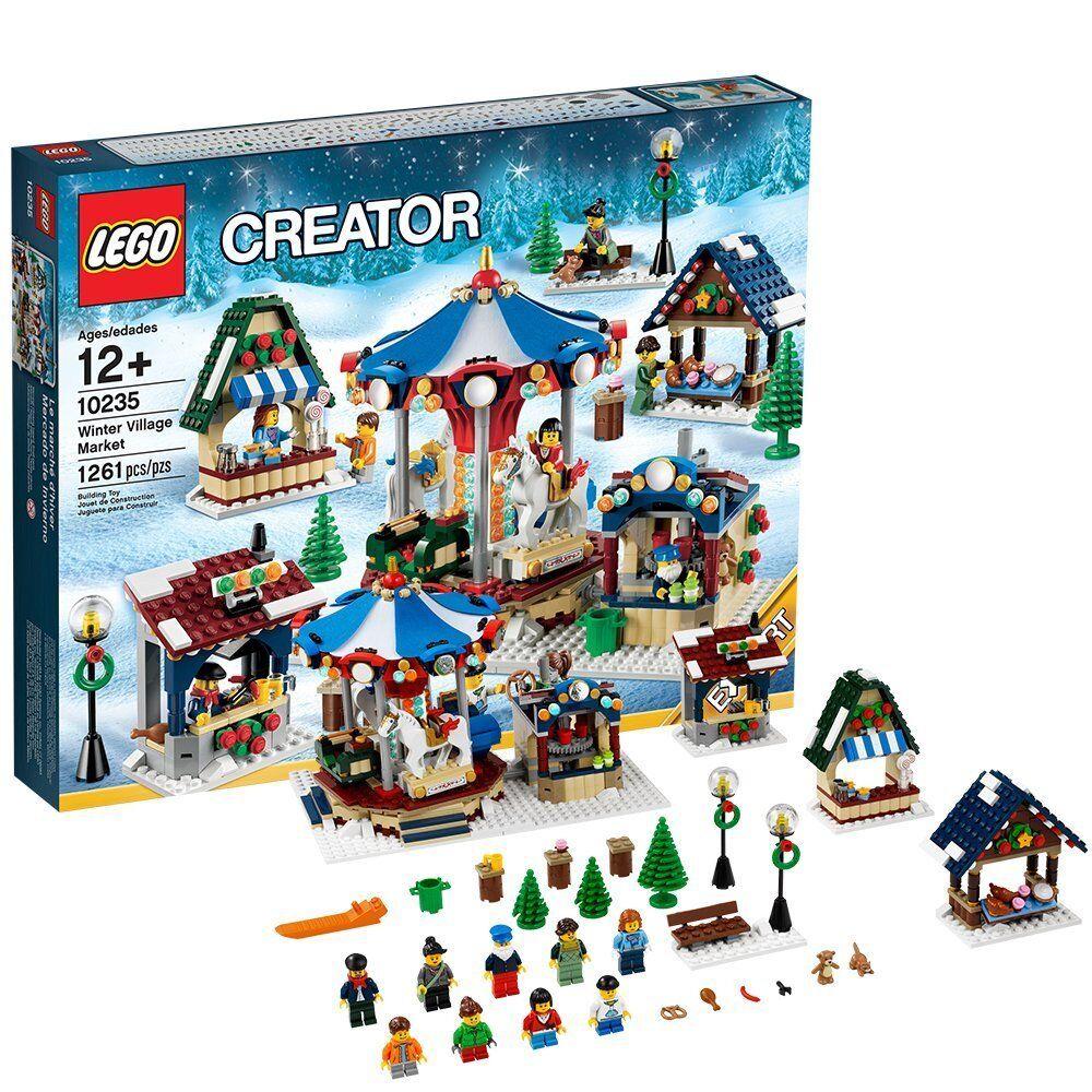 Sealed LEGO Creator 10235 Winter Village Market 1261 pcz NEW Free shipping RARE