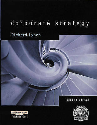 1 of 1 - Corporate Strategy, Lynch, Richard, Very Good Book