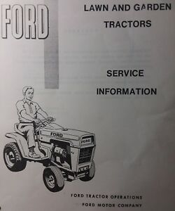 ford lgt 100 120 125 145 lawn garden tractor service manual 18pg rh ebay ie Ford 8N Hydraulic Diagram Ford LGT Parts