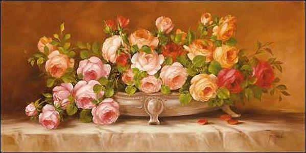 Fasani  rosas (III) Barella-Immagine Schermo Schermo Schermo rosan-Strauß Natura Morta 0c4242
