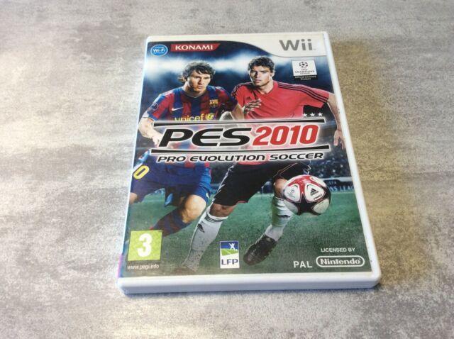 WII PES 2010 Pro Evolution Soccer NINTENDO PAL FR COMPLET