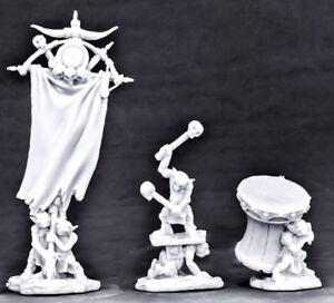 3-x-GOBLIN-HONOR-GUARD-BONES-REAPER-figurine-miniature-rpg-jdr-d-amp-d-flag-77567