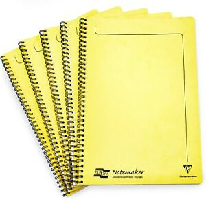 Lemon Clairefontaine Europa Notemaker Notebook 120 Pages A4-90gsm