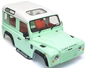 rc 1 10 land rover defender 90 w interior d90 scale truck. Black Bedroom Furniture Sets. Home Design Ideas