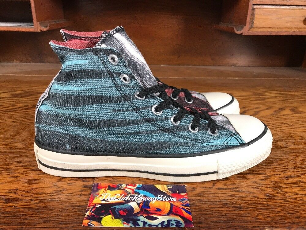 Converse Missoni Chuck Taylor All Star High Apple Top Washed Canvas Crab Apple High 149548C c608cd
