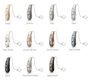 Details about 2019 2x Signia Siemens Pure 7Nx RIC 312 Hearing Aids Set Pair  Includes Receivers