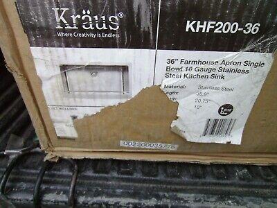 Kraus Khf200 36 Inch Farmhouse A