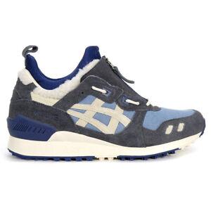ASICS Men's Gel-Lyte MT Gris Blue/Birch Mid Shoes 1191A204.400 NEW