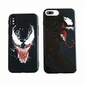 TPU-Stan-Limanwei-Venom-Cover-Case-For-Apple-iPhone-6-6S-7-8-Plus-XS-Max-XR-X