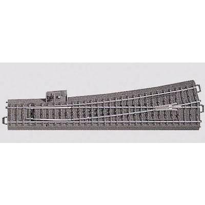 H0 Märklin C-Gleis (mit Bettung) 24711 Weiche, schlank, links 236.1 mm