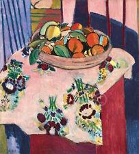 Basket with Oranges Henri Matisse Figurative Still Life Fruit Print Poster 11x14