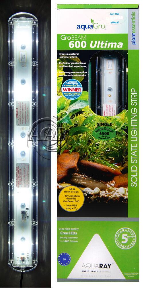 AAP TMC GroBeam 600 LED Aquarium Light; High Lighting Planted Tank Capable