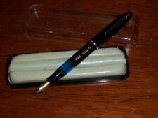Penna Stilografica d'epoca Orig. Anni 60 Ero Major Nuova pennino placcato oro