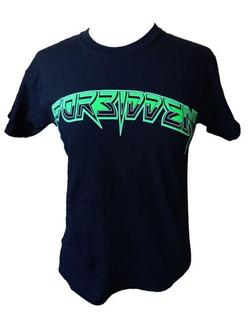 Forbidden 2011 Australian Tour Fitted T-Shirt. Large. Thrash Metal.