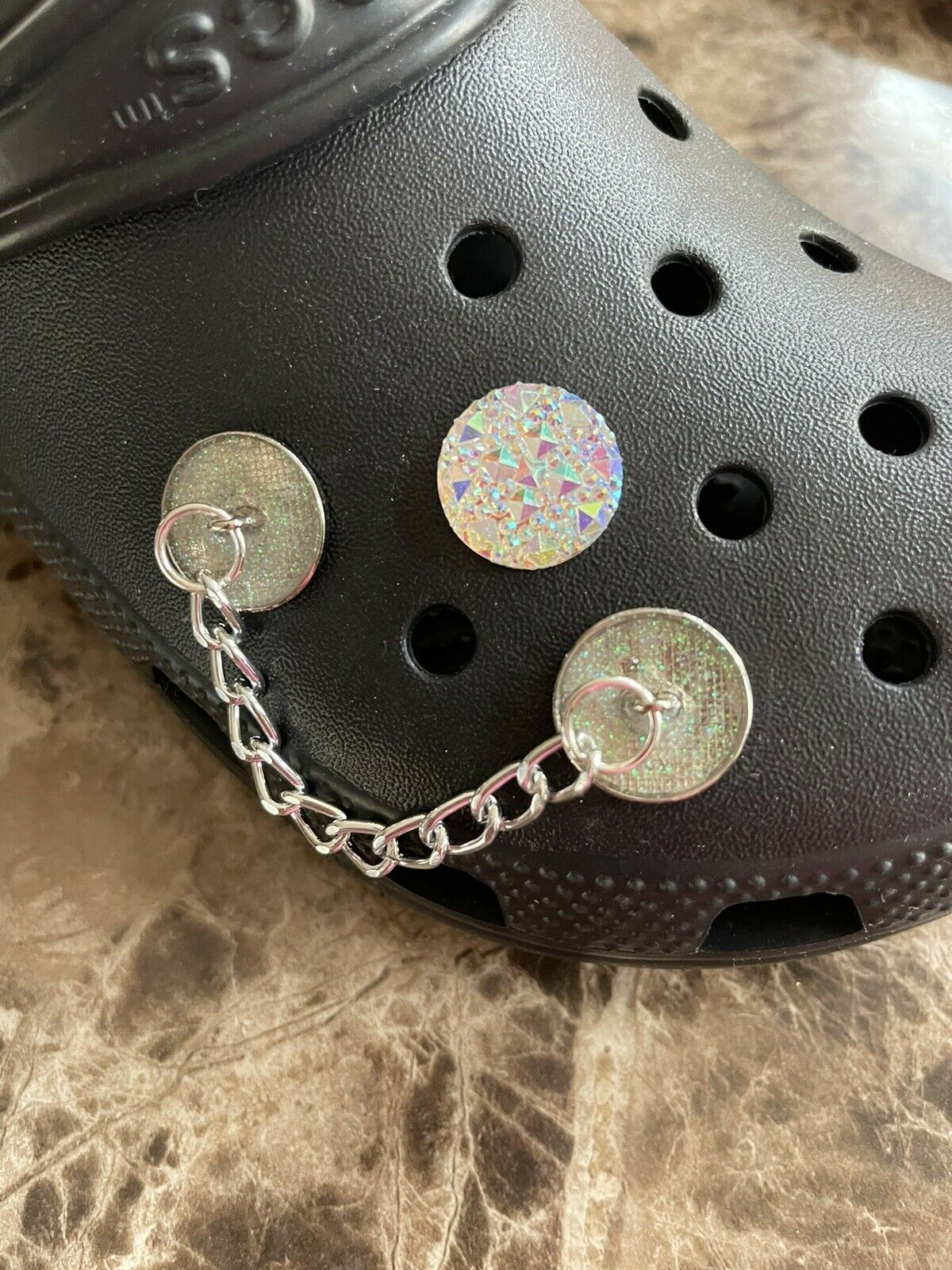 crocs inspired charms - Chains