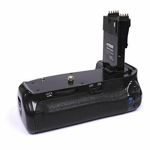 Wasabi Power Battery Grip for Canon BG-E14, LP-E6 and Canon EOS 70D, 80D