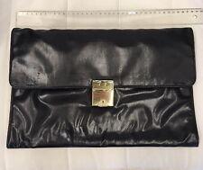 Beau porte documents conférencier attaché case serviette pochette.