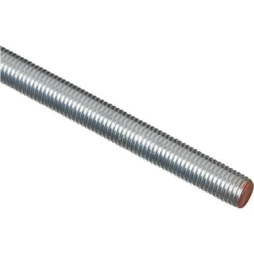 "10 Pk Steel Zinc Plated 58"" X 6' Constructit Redi Bolt Threaded Rod N179630"