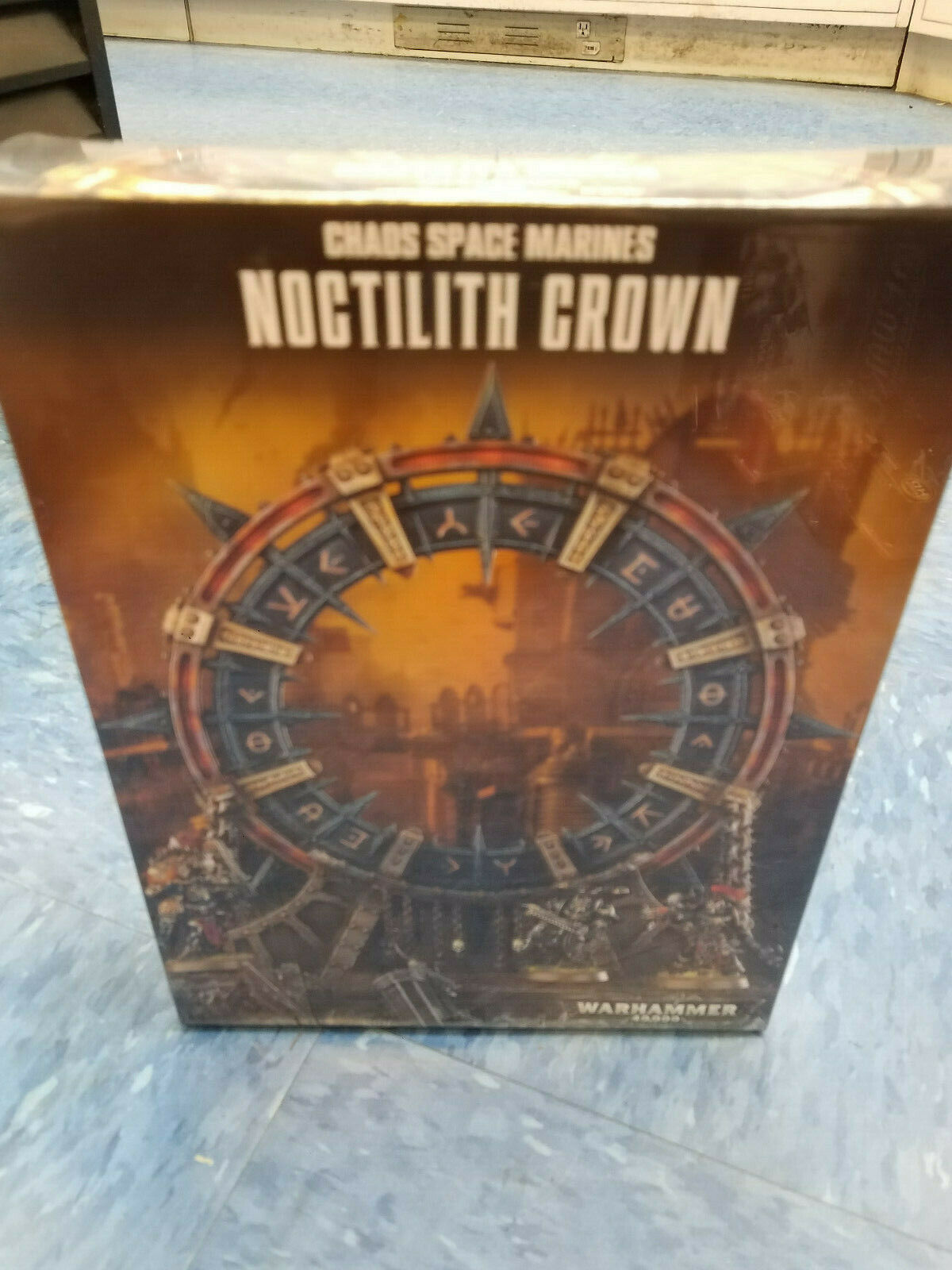 Noctilith Crown Chaos Space Marines Warhammer 40k 40,000 Games Workhop