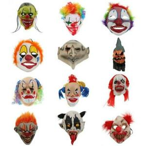 Scary-Evil-Clown-Mask-Devil-Bloody-Mouth-Jester-Latex-Mask-Halloween-Costume
