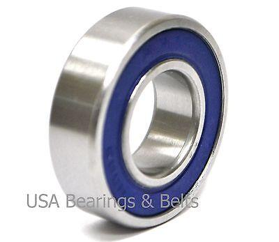Qty 2 6005-2RS USBB* 25x47x12 6005 RS,Sealed Premium Bearing ABEC3//C3//EMQ