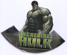 The Incredible Hulk ! Birthday Party Hats    Great Party Item ! Super Hero !