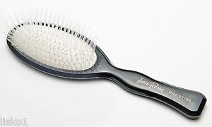 Phillips Jean Pierre Prestige Oval Nylon  bristle white cushioned Hair Brush