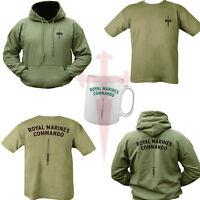 Royal Marines Commando Bundle TShirt ,Hoodie & Mug Unisex All Sizes Double Print