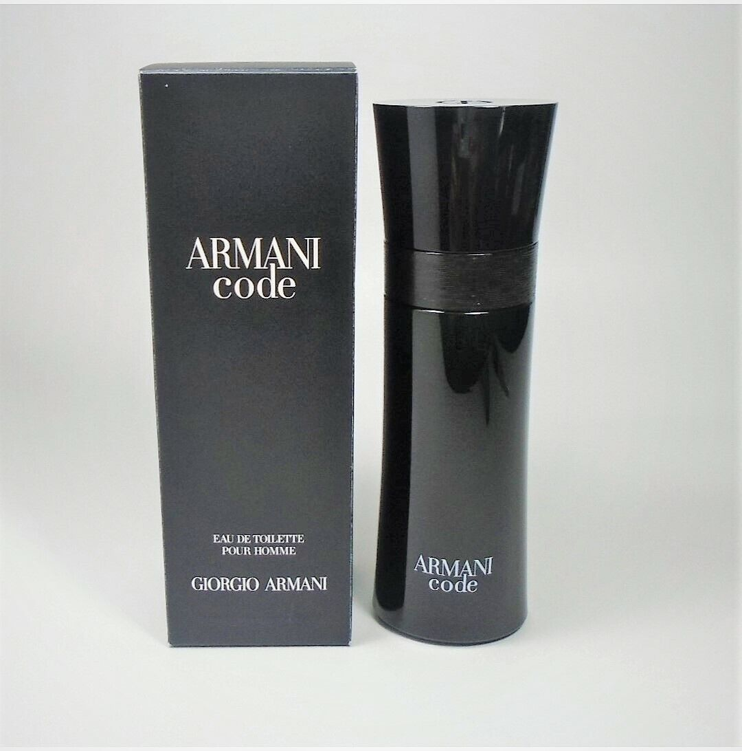 Image 1 - Armani Code by Giorgio Armani EDT For Men 1.7oz / 50ml * NEW IN SEALED BOX *
