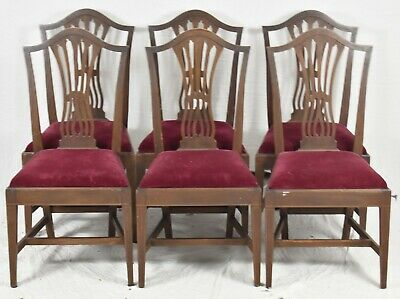 Set of 6 Potthast Mahogany Chippendale Style Dining Chairs ...
