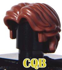 NEW LEGO - Figure Hair - Han Solo modern short wavy brown - GENUINE