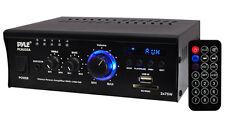 New Pyle PCAU35A 2 x 75W Stereo Power Mini Amplifier USB/SD AUX Player & Remote