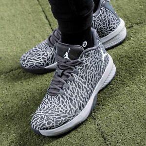 Nike-Jordan-B-Fly-Baskets-Casual-Fashion-Loup-Gris-UK-taille-8-eur-42-5