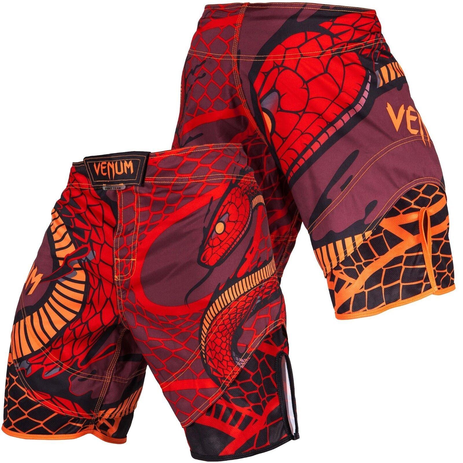 Venum Uomo Snaker Pantaloncini Lotta Mma Rosso,Wrestling,Bjj ,Jiu-Jitsu,Surf,