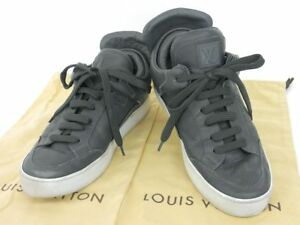 d1621069b01b LOUIS VUITTON Kanye West DONS lace-up high-cut sneakers gray size 7 ...