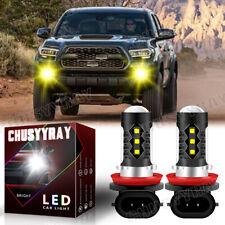 H11 Yellow Fog Light Led Bulbs For Toyota Tacoma 2016 2020 Tundra Rav4 2013 2019