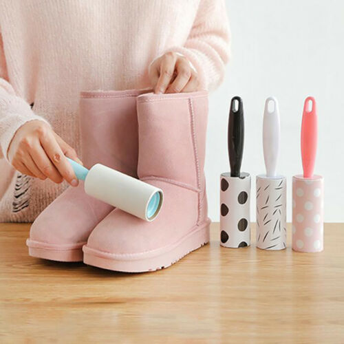Reusable Washable Cleaner Lint Roller Sticky Dust Pet Hair Remover Brush CB