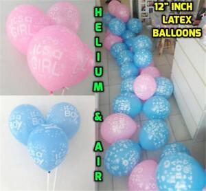 12-034-Self-Inflating-Balloons-Baby-Girl-PINK-Boy-BLUE-Bear-Baby-Shower-Baloon