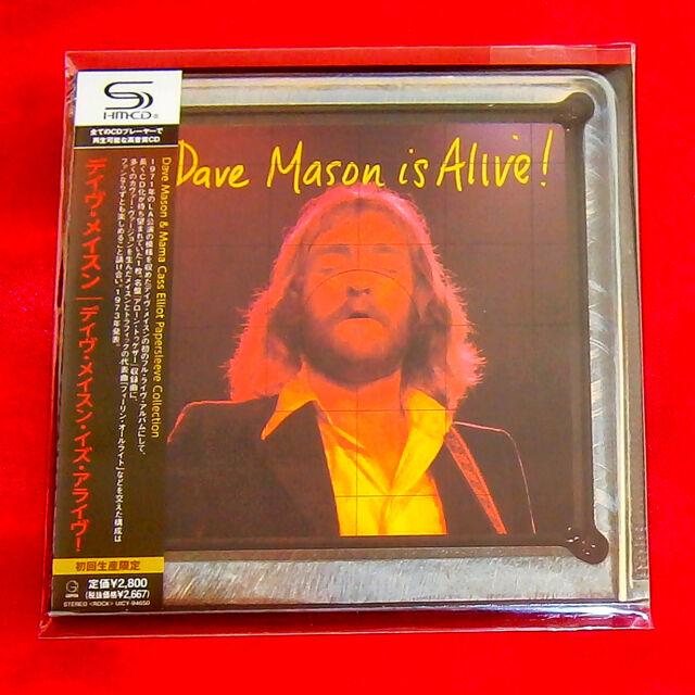 Dave Mason Is Alive JAPAN SHM MINI LP CD UICY-94650