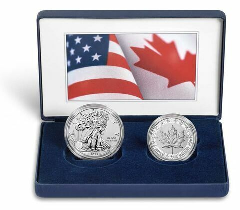 Pride of Two Nations 2019 Limited Edition Two-Coin Set 19XB