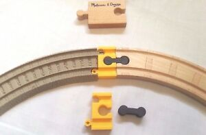Train-old-Trackmaster-Adapter-Plastic-wood-Thomas-Tomy-Brio-battery-track-MF-set
