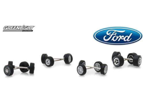 Greenlight Ford Rad And Tire 4pcs Pack 13166 1//64