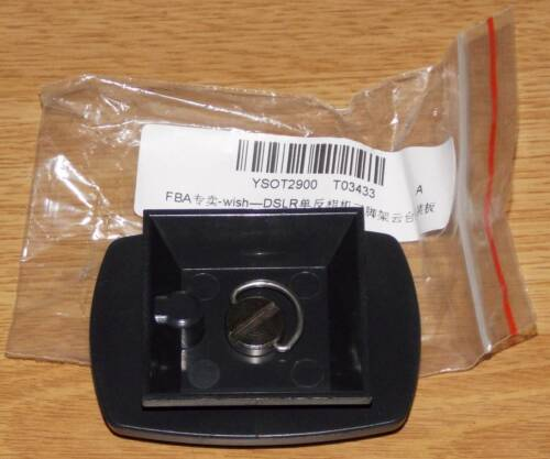 """Rápido cambio placa adaptador placa disco embrague 1//4/"""" tornillo para velbon Sony"""