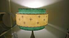 Mid Century Vintage Style 3 Tier Fiberglass Lamp Shade Starburst Atomic  18AGIV