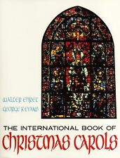 International Book of Christmas Carols Learn Play Vocals Voice Piano Music Book